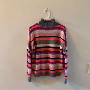 Striped Chaps Sweater